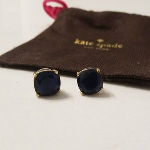 Navy Blue Kate Spade Earrings